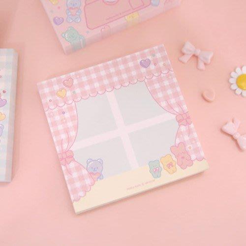 ❅PAVEE❅ 韓國afrocat~ PINKY HOLIC Chocomi v.4 熊寶貝 便條紙~ 窗戶