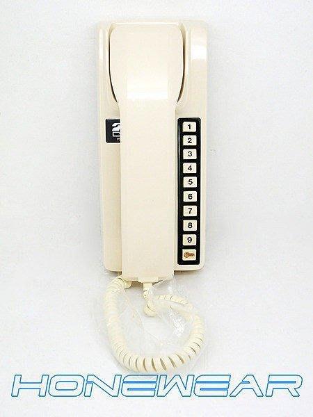明谷牌C型透天用室內外對講機3台+0.5-7P電纜線30米--套組