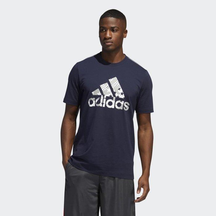 南 2020 6月 Adidas TRAINING AMERICANA TEE GK3623  深藍 美國 愛迪達 短T
