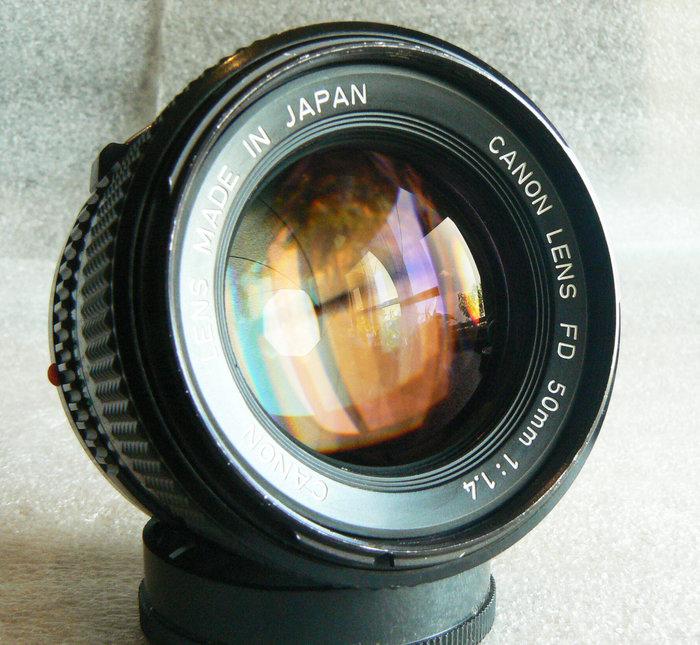 【悠悠山河】收藏級 Canon nFD 50mm F1.4 大光圈標鏡 鏡片超透亮 無刮無霉無霧無塵無斑 轉接到微單極優