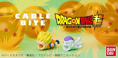 日本直送 全新正版 Dreams Cable Bite for IPhone 龍珠 dragon ball 悟空 菲利