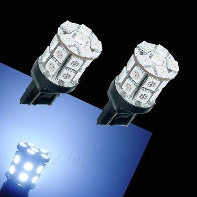 【PA LED】T20 7440 單芯 20晶 60晶體  SMD LED 超白光 倒車燈 方向燈 後霧燈 360度發光