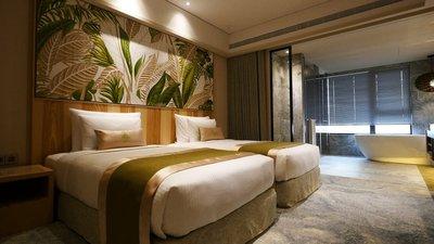 阿樹國際旅店 沙曼豪華雙人房,含早餐 住宿二人一室二小床 每人3120起,另有威斯汀、夏都、漢來,線上服務您