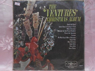 【采葳音樂網】-西洋黑膠–〝THE CHRISTMAS ALBUM THE VENTURES投機者的聖誕歌集〞888