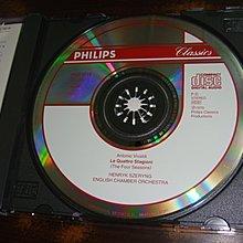 好音悅 Szeryng 謝霖 Vivaldi 韋瓦第 四季小提琴協奏曲 Four Seasons PHILIPS 日版