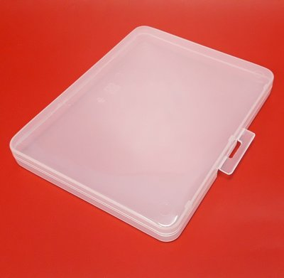 【五旬藝博士】玲瓏文書盒 方盒 文具盒 資料盒 厚2公分-LH