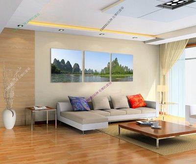 【50*50cm】【厚1.2cm】風景山水畫-無框畫裝飾畫版畫客廳簡約家居餐廳臥室【280101_423】(1套價格)
