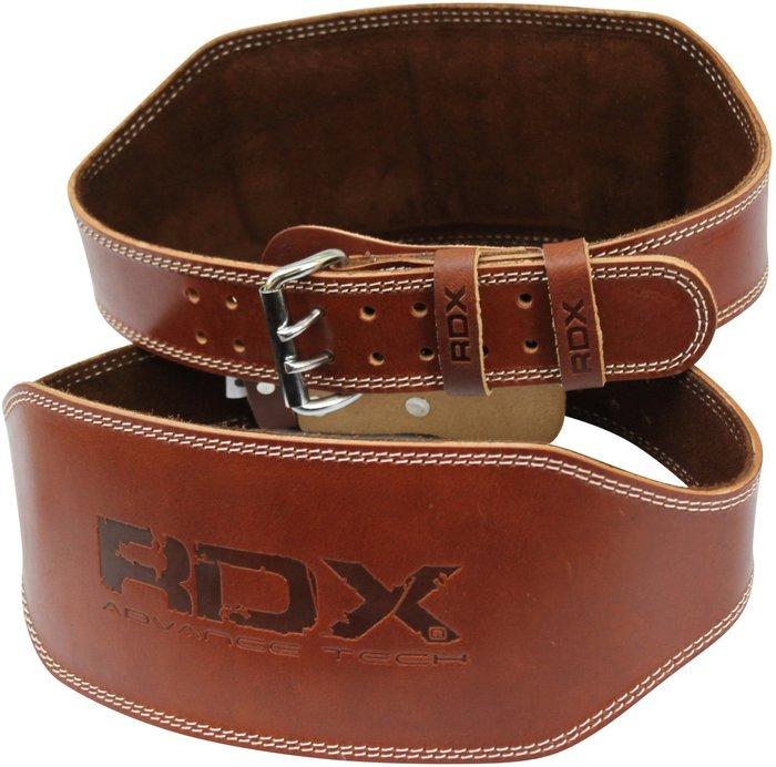 【千里之行】英國RDX重訓/舉重/蹲舉6吋寬版基本入門腰帶全真皮革烙印壓紋/質感不輸ALEX VALEO/另有重訓手套