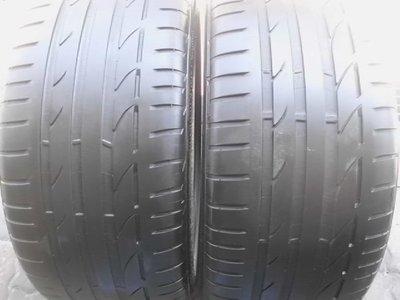 ◎至品中古胎◎優質中古跑胎~255/40/18 普利司通 S001 高性能跑胎 ~含安裝.平衡