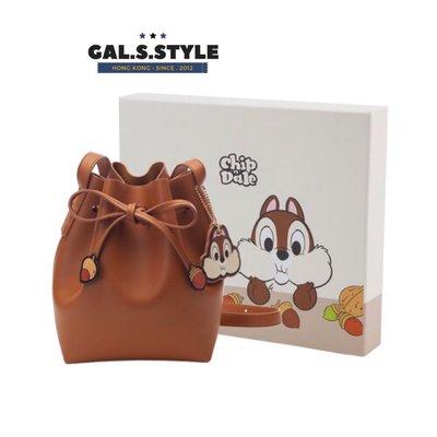 【台灣代購 】❥ 大鼻與鋼牙索繩水桶袋 ︎︎❥ chip and dale 大鼻鋼牙 chip&dale Disney 迪士尼 GAL.S.STYLE