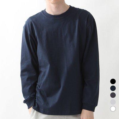 卡卡西市集HANES JAPAN BEEFY-T 日本恒適牛頭系列加厚打底衫長袖T恤 H5186