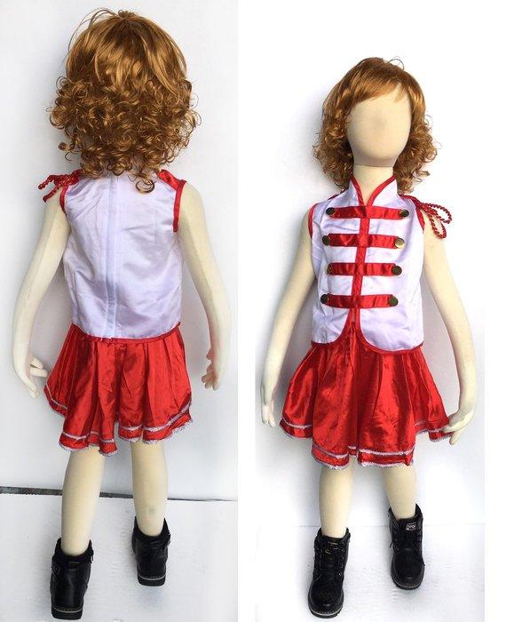 【洋洋小品啦啦隊儀隊造型服-裙GB28-1】 兒童造型萬聖節服裝聖誕節服裝舞會派對服裝表演冰雪奇緣公主白雪灰姑娘台灣製造