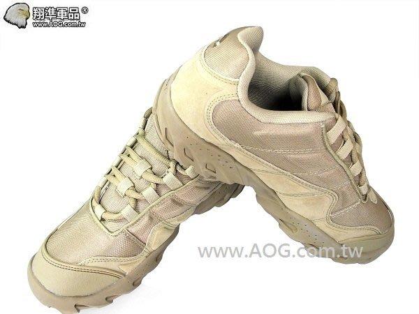 【翔準軍品AOG】ESDY 超短版骷髏靴(沙色) 登山靴 戰鬥靴 H0129A-40
