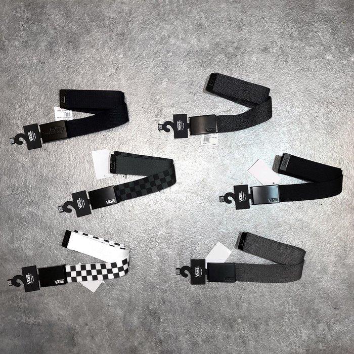 【Faithful】VANS Deppster II Web Belt【VN0A31J1】六色皮帶