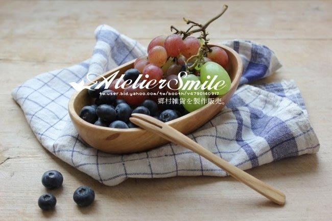 [ Atelier Smile ] 鄉村雜貨 歐洲進口橡木 烘焙廚房專用 橡木整木元寶型點心托盤 水果盤 (現+預)