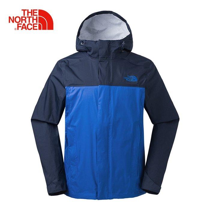 香港代購【The North Face】深藍防水透氣外套 2XTB1SK