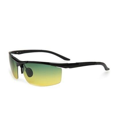 太陽眼鏡 偏光日夜視鏡-時尚運動防護防光男墨鏡2色73nm27[獨家進口][米蘭精品]