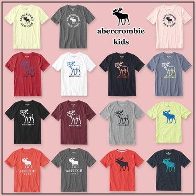 MELEK Clothes 代購正品現貨 【abercrombie kids】【a&f】 af男童款圓領麋鹿短袖短T