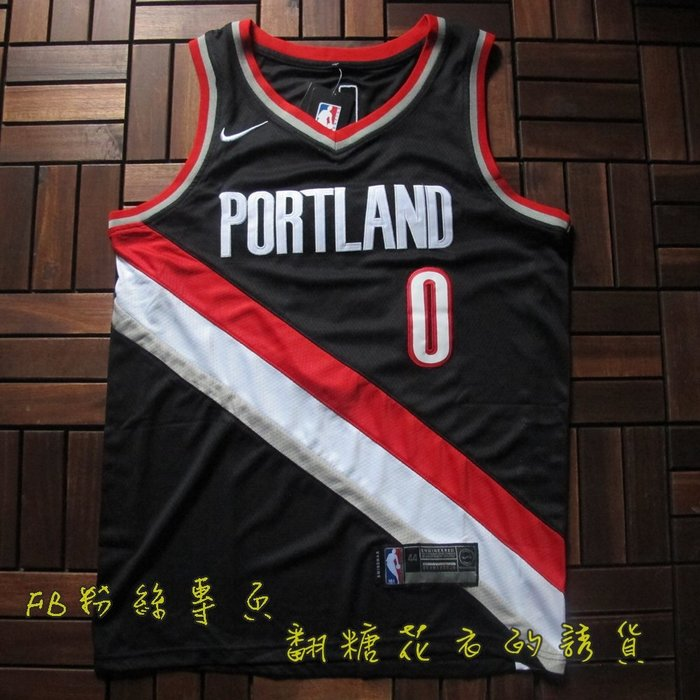 NBA2018全明星賽球衣 波特蘭拓荒者隊 LILLARD 里拉德 城市板
