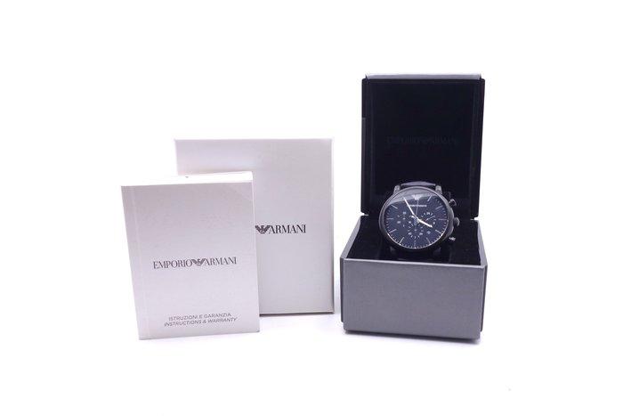 【台中青蘋果】Emporio Armani 運動三眼計時腕錶 AR1970 #31676