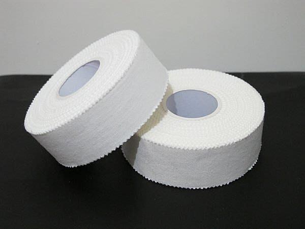 白貼 1吋 (2.5cm*10m) 運動白貼 貼紮 包紮貼布 外銷歐、美、日產品 另有售機能貼布 皮膚膜
