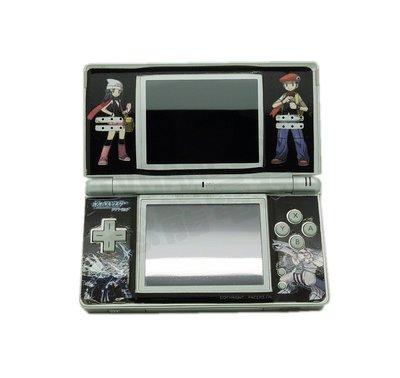 【二手主機】任天堂 Nintendo DSL NDSL 口袋怪獸(痛貼) 銀色主機 附充電器【台中恐龍電玩】