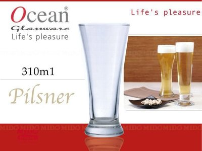 【PO771058】Ocean進口玻璃美式啤酒杯/玻璃杯(310ml)-B5011《Midohouse》