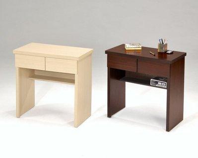 樂居二手家具館 全新中古傢俱賣場 NH-B07JI*全新二抽屜胡桃,白橡書桌 電腦桌*租屋套房 兒童書桌 辦公桌