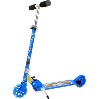 兒童滑板車二輪代步車兩輪2輪滑行車折疊...