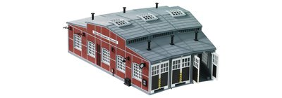 傑仲 博蘭 FLEISCHMANN 鐵軌零件 Locomotive roundhouse(kit) 9475 N