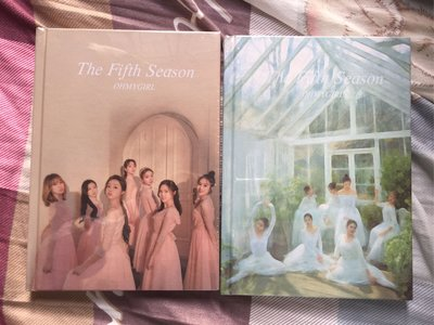 OH MY GIRL Vol. 1 THE FIFTH SEASON 韓國版 CD 一張 訂