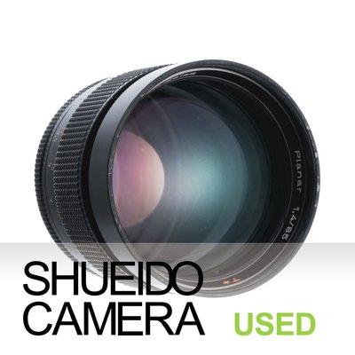 集英堂写真機【3個月保固】良品 CONTAX ZEISS PLANAR T* 85mm F1.4 鏡頭 13064