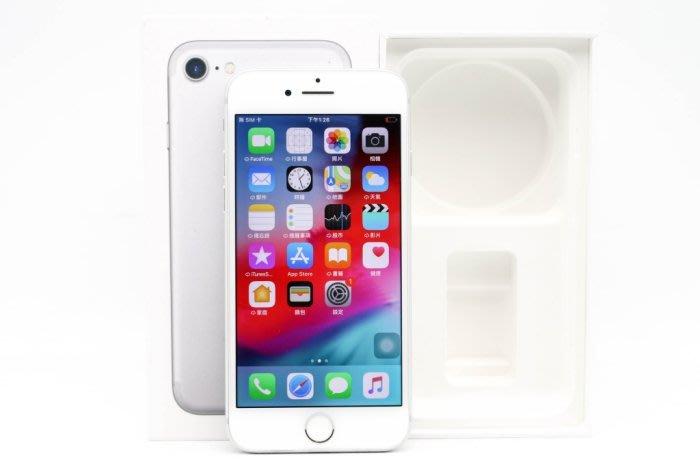 【高雄青蘋果3C】APPLE IPHONE 7 銀  32G 32GB 二手 4.7吋 蘋果手機 #38488