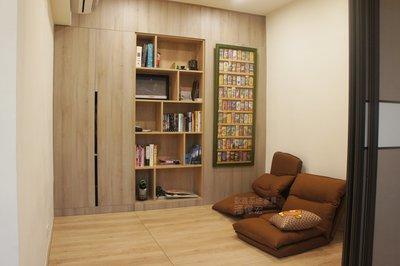 【歐雅系統家具】沉穩大器 優雅和室 木工天花板 餐邊櫃 收納櫃
