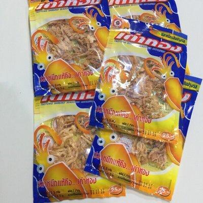 泰國 taotong 魷魚絲 13.5g 小辣