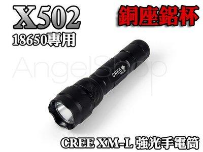 《三洋鋰電全配》X502 CREE X...