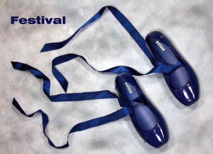 嘉年華 巴西人字鞋 Melissa 芭蕾舞綁帶娃娃鞋