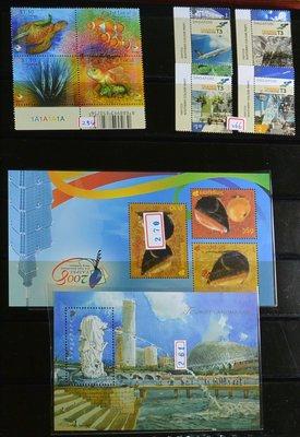 特價商品 外國郵票 星加坡 新加坡 二...