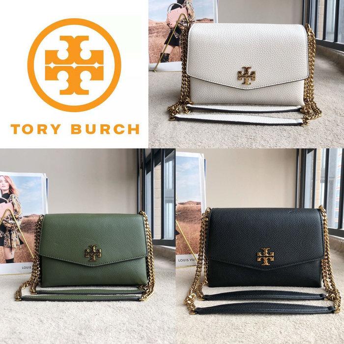 小皮美國代購 Tory burch TB 74643 新款女士Kira系列單肩包 荔枝紋牛皮 可斜揹 附購證