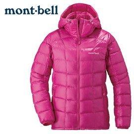 丹大戶外 日本【mont-bell】Superior 女款羽絨連帽夾克 1101465DPK 桃紅