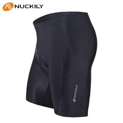 【Ourmall】NUCKILY 3D立體 自行車短車褲 五分褲 男女 萊卡布料 透氣 排汗 加強型矽膠坐墊
