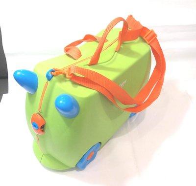二手, SNOW 拉背提 四輪 造型 兒童 硬殼行李箱 / 兒童可坐 /  尺寸約16吋 新竹市