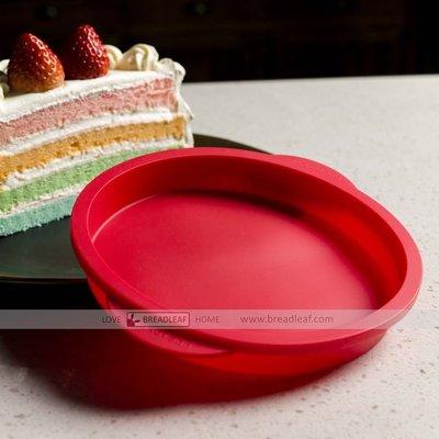 【嚴選SHOP】Bread Leaf 6吋/ 8吋 矽膠圓蛋糕模具 多色蛋糕模具 矽膠烤模 蛋糕胚烤盤 矽膠模【B106】 台中市