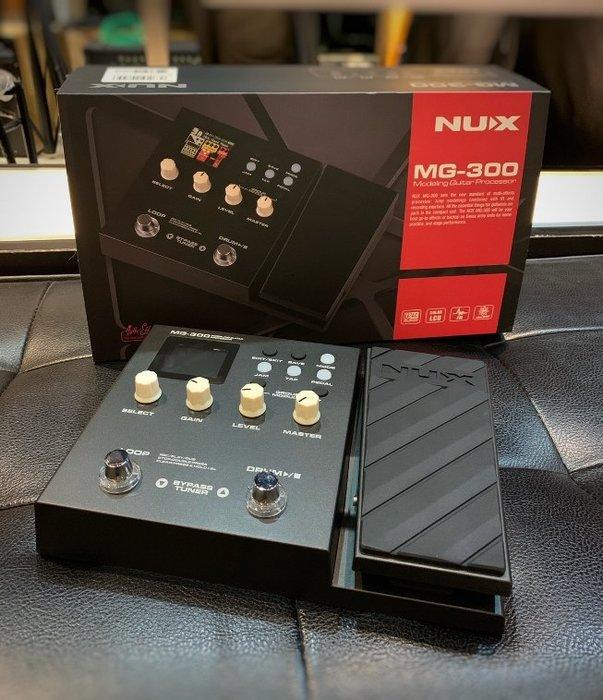 【名人樂器】NUX MG-300 綜合 效果器