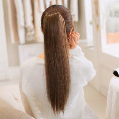 ☆溫蒂假髮屋☆長假髮假馬尾-長直髮自然無痕仿真女假髮3色73rr55