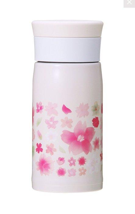 2017日本星巴克 限定櫻花系列不銹鋼保溫保冷瓶 350ml