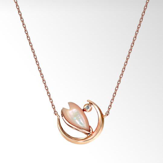 (預購商品) 牛牛小舖**日本空運代購 Star Jewelry 春季限定商品 櫻花珍珠母貝項鍊