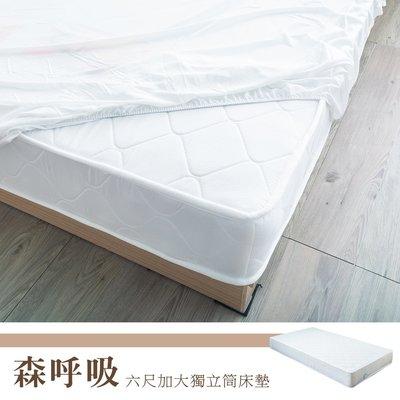 *架式館*Kailisi 卡莉絲名床 6尺加大雙人獨立筒床墊 台灣製造 3D立體透氣提花設計 雙ISO認證