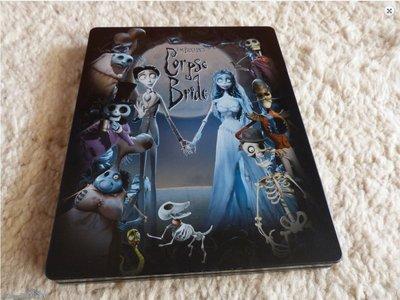 毛毛小舖--藍光BD 提姆波頓之地獄新娘 限量鐵盒版 Corpse Bride 強尼戴普