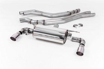 英國 Milltek 牛奶管 中尾段 賽道 拋光銀 排氣管 BMW 1系列 一系列 三門 五門 F20 F21 M140i 11+ 改款 專用